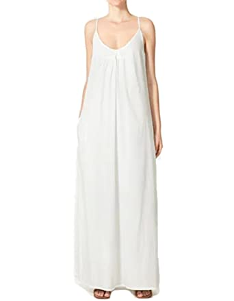 9d6516e6a4 European style slip dress Vintage Design Nightdress White Romantic Classic  Princess nightgown (M