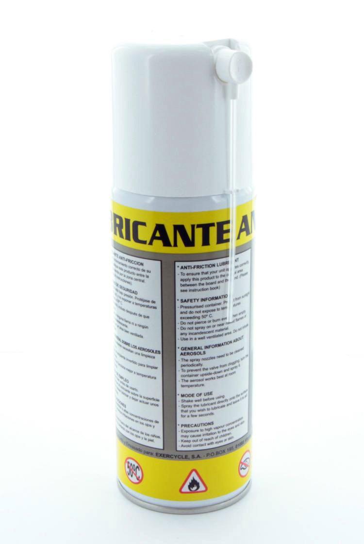 Spray lubricante para cintas de correr BH - 400ml - Compatible con cintas domésticas - 7297701: Amazon.es: Deportes y aire libre