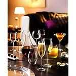 ARC International Luminarc Cachet Martini Glass, 10-Ounce, Set of 4 6 Four Martinis Soda Ash Glass Lead Free Glass