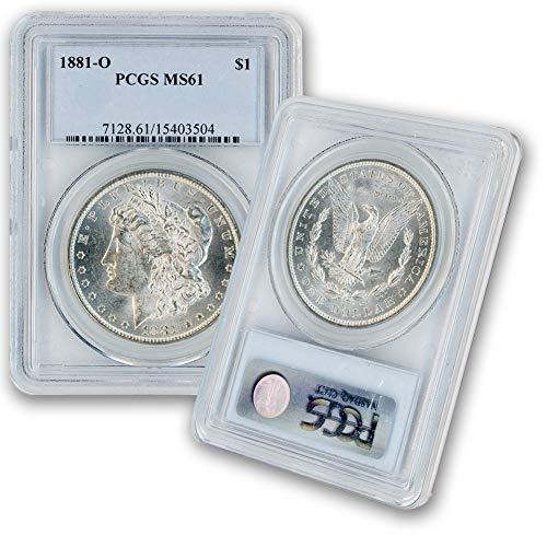 1881 O Morgan Silver Dollar $1 MS61 PCGS ()
