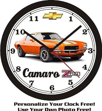 1970 1 2 CHEVROLET CAMARO Z 28 WALL CLOCK-FREE USA SHIP