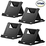 samsung galaxy 5 mini bag case - Cell Phone Stand,4 Pack Tablet Stand,Universal Foldable Multi-angle Pocket Desktop Holder Cradle for Tablets(6-11
