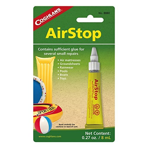 Coghlan's Airstop Sealant, 0.27-Ounce/ 8 ml (Best Inflatable Car Bed)