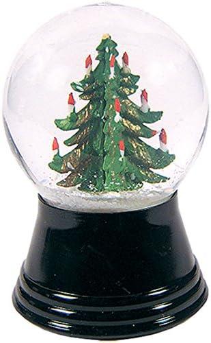 Alexander Taron Importer PR1231 Perzy Snowglobe, Small Christmas Tree-2.5 H W x 1.5 D, 2.75 x 1.5 x 1.5 , White