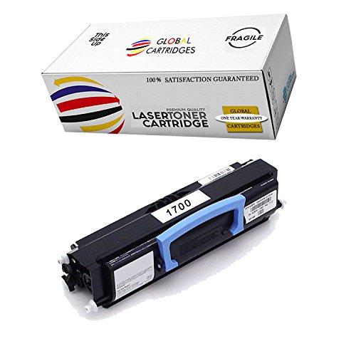 GLB Premium Quality Compatible Dell 1700, 1710, 310-7025, 310-5402, 310-7041 K3756 Black Toner Cartridge for Dell 1700, 1700n, 1710, 1710n Printers ()