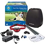 PetSafe Stay & Play Wireless Fence for Stubborn Dogs, 3/4 Acre of Circular