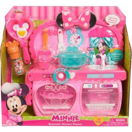 Disney Minnie Bow-Tique Bowtastic Kitchen Playset