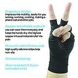 Glalove Copper Fit Compression Gloves, Copper