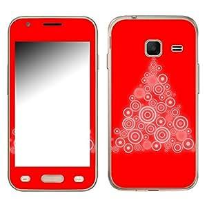 "Motivos Disagu Design Skin para Samsung Galaxy J1 mini (SM-J105H/DS): ""X-Mas Tree"""