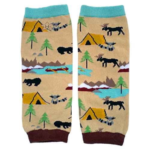 Huggalugs Baby Boys or Girls Great Outdoors Camping Legwarmers Infant
