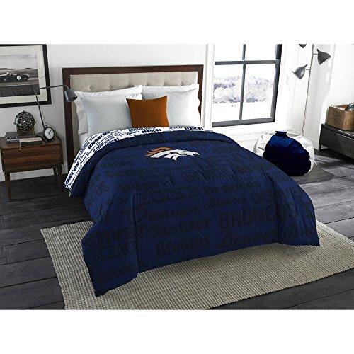 NFL Denver Broncos Bedding Set, Twin Denver Broncos Bedding