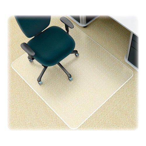 Mat Beveled Studded Supermat (DEFLECTO CORPORATION CM14243 SuperMat Studded Beveled Mat for Medium Pile Carpet, 45 x 53, Clear)