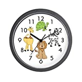 CafePress – Animal Kids – Unique Decorative 10″ Wall Clock