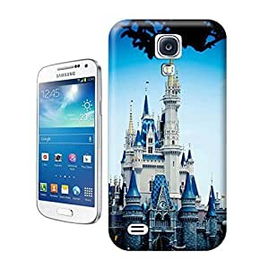 Unique Phone Case Famous buildings Disney Castle Hard Cover for samsung galaxy s4 cases-buythecase