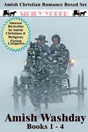 Amish Romance Boxed Set (Amish Washday 1-4) (Amish