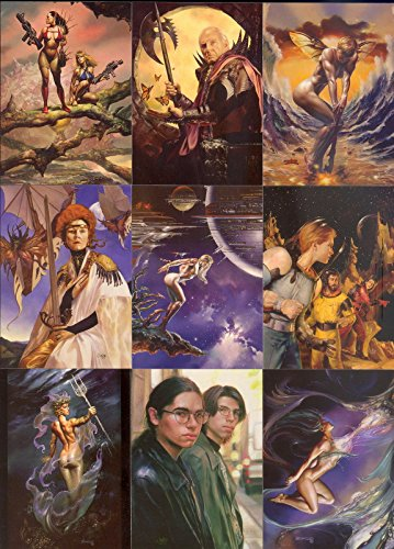 boris-vallejo-and-julie-bell-strokes-of-genius-2003-comic-images-complete-base-card-set-of-72