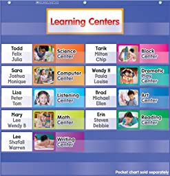 Learning Centers Pocket Chart Add-ons (SC541756)