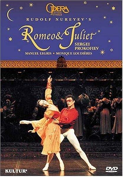 Amazon.com: Prokofiev - Romeo et Juliet / Legris, Loudieres, Jude, Delanoe,  Romoli, Martinez: Monique Loudieres, Manuel Legris, Paris Opera Ballet:  Movies & TV