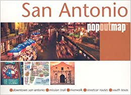 San Antonio, TX PopOut Double Edition (Popout Map San Antonio) Ebook Rar