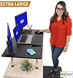 Stand Steady Mega Standing Desk - Stand Up Desk Topper - Instantly Convert Any Surface to a Standing Desk - Easy Assembly No Tools Required! Largest Desk Converter (39.5'' x 22'') (MSRP: $245)