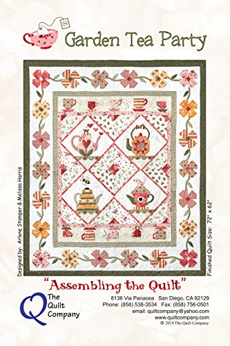 Garden Tea Party Quilt Patterns by The Quilt Company 72