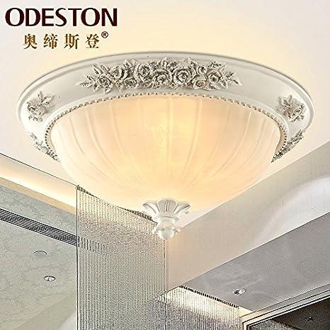 FLRLY Easy Fit moderno y luz de techo Retro sombra idílica C ...