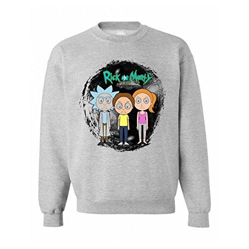 Rick And Morty Series Anime Characters Unisex Sweater