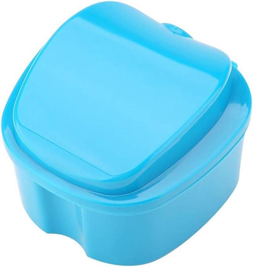 Hilai 1pc Caja de baño para dentadura postiza Caja de baño para ...