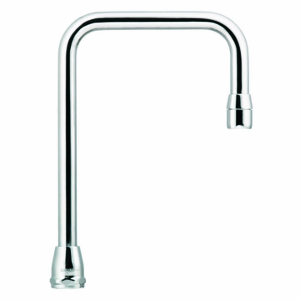 Moen S0011 Commercial M-Dura 12-Inch Reach Double Bend Spout 6.00-Inch to Aerator, Chrome