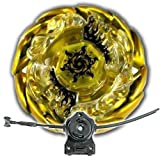 Beyblade Sol Blaze Solar Sun God Gold With LL2 Launcher and Rip Cord Shipped and Sold From US by Rapidity