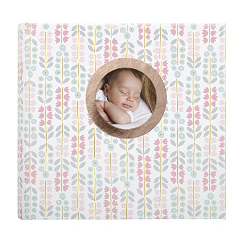 - C.R. Gibson's Patterned Baby Girl Photo Album Baby Shower Album by DwellStudio, 1.8 x 9 x 8.9 inches, 80 Pages
