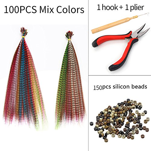 Extensions Synthetic Highlight Colorful Hairpieces product image