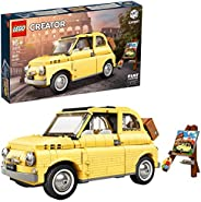 LEGO Creator Expert Fiat 500 10271 Toy Car Building Set for Adults and Fans of Model Kits Sets Idea, New 2020