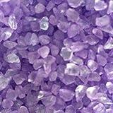 Miniature Fairy Garden Mirror Glass Pebbles Aggregates Crystal like Sand River Rock 50-60g Amethyst Purple for Aquarium Fish Tank Decorations, Fantastic Garden or Yard, Resin Making Jewel Craft DIY Project etc.