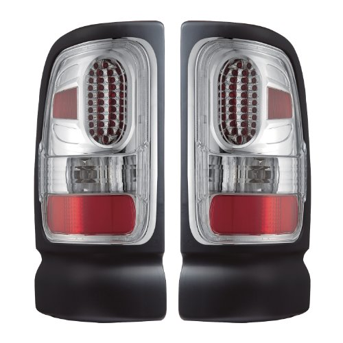 APC 407536TLC Dodge Ram Diamond Cut Tail Light (3500 Apc Diamond)