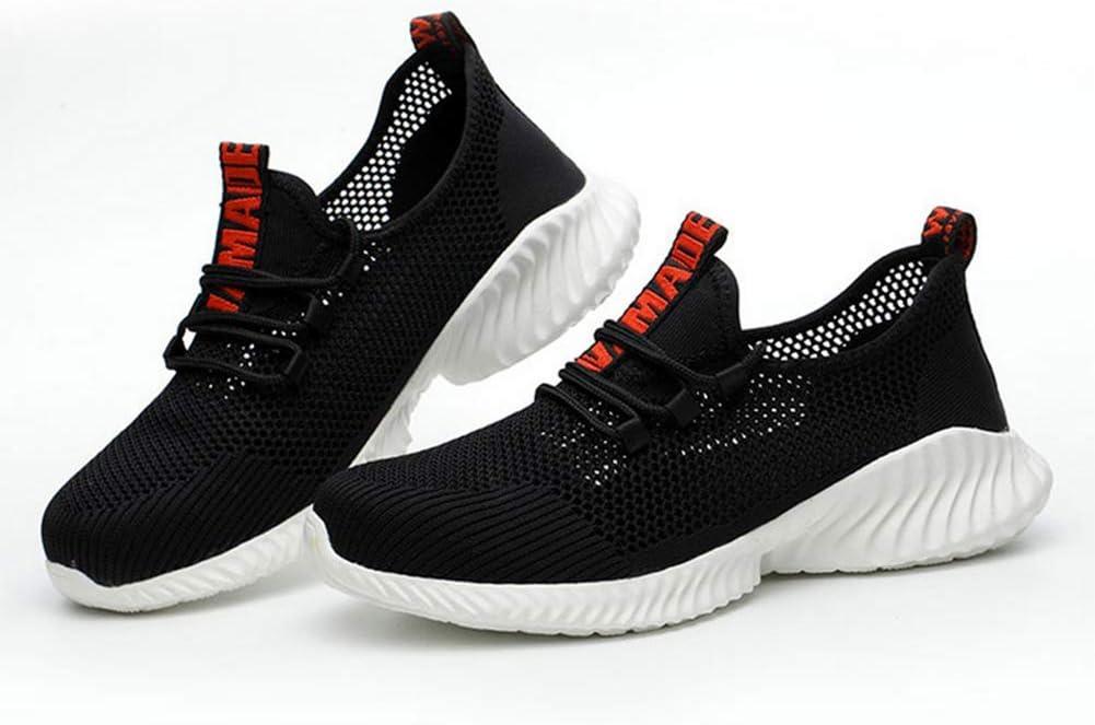 schwarz rot ribbon-45  OOFAY Schuhe, Schuhe, Sicherheit durchstichsichere atmungsaktive Schuhe Stahl Kopf Anti - rutsch - mopeds und schweißer