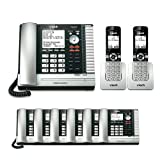 VTech UP416 Office Bundle Corded Phone System with (6) UP406 Corded Extension Deskset and (2) UP407 Cordless Handset