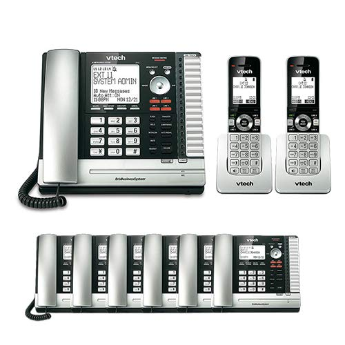VTech UP416 Office Bundle Corded Phone System with (6) UP406 Corded Extension Deskset and (2) UP407 Cordless Handset by VTech (Image #3)