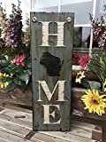 hot mom wi - WISCONSIN State SIGN Vertical *FARM, HOME, LAKE, or WELCOME *Rustic Distressed Wood *Antique Red White or River Rock Blue Gray *LARGE XL *Inside *Outside *Exterior *Entryway, Porch, By Front Door WI