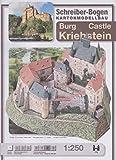 Schreiber-Bogen Card Model making, Castle Kriebstein