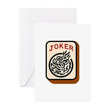 Cafepress joker greeting cards greeting card note card cafepress joker greeting cards greeting card note card birthday card blank m4hsunfo