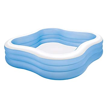 Intex 57495NP - Piscina (Piscina Hinchable, Rectangular ...