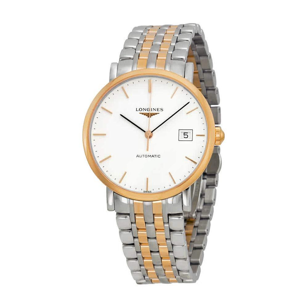 LONGINES RELOJ DE HOMBRE AUTOMÁTICO CORREA DE ACERO DOBLE TONO L48105127: Amazon.es: Relojes