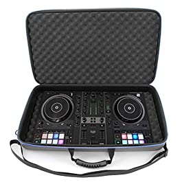 CASEMATIX DJ Controller Travel Case Compatible with Hercules Inpulse 500 – Hard Shell DJ Mixer Carrying Case with…