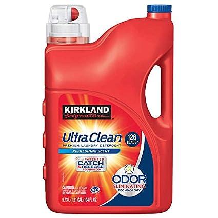 2位.カークランド ウルトラクリーン液体洗濯洗剤