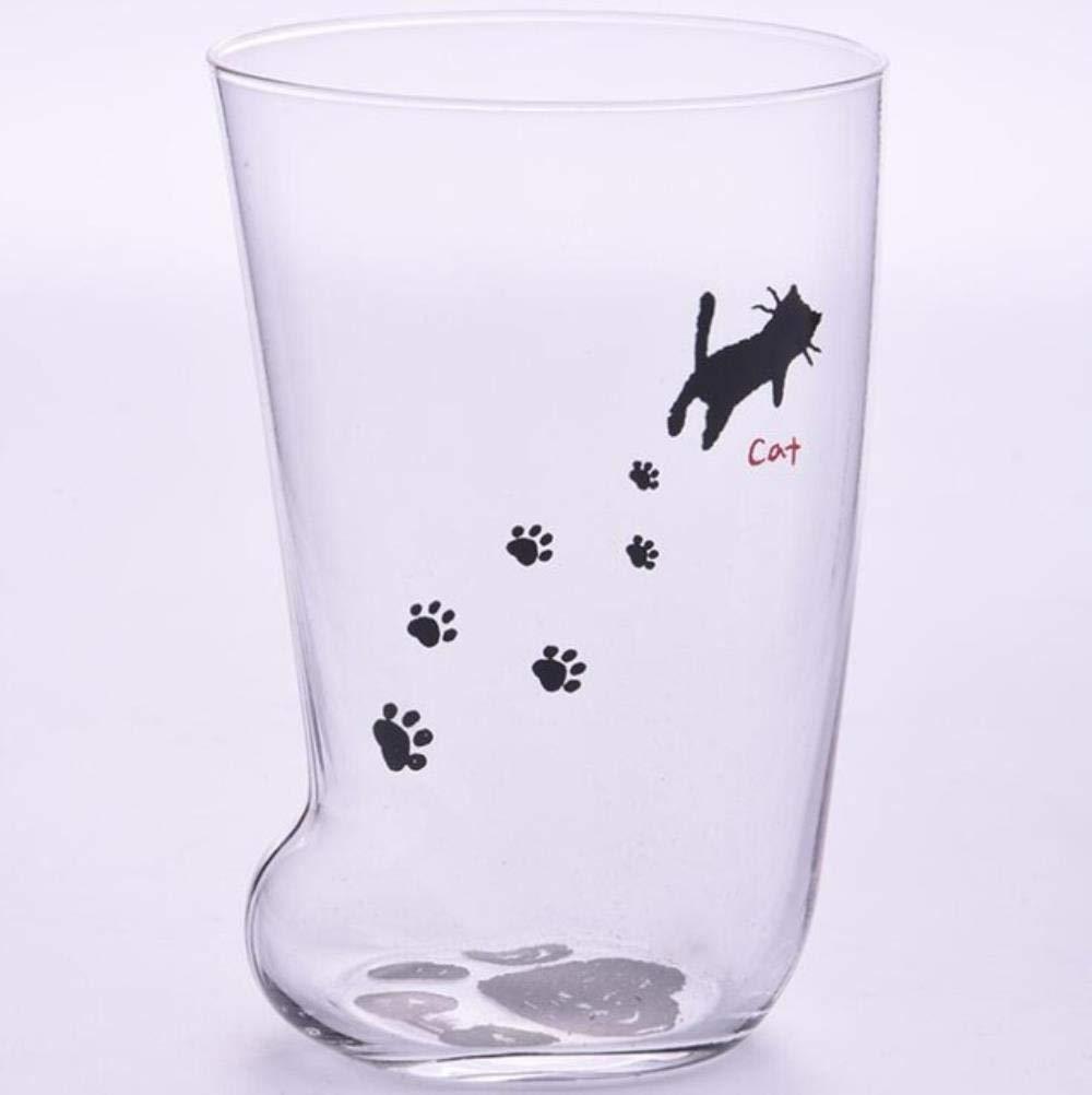 LIKEZZ Creative Cute Cat Paws Glass Tiger Paws Mug Tazza da caff/è da Ufficio Bicchiere personalit/à Colazione Tazza da Latte in Porcellana Regalo 1.301-400ml