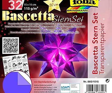 Simple Origami 5 Point Star Tutorial - 1 Sheet - Paper Kawaii | 354x425