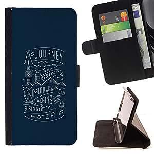 Jordan Colourful Shop - Journey London Blue Travel Inspiring For Apple Iphone 5 / 5S - Leather Case Absorci???¡¯???€????€???????&bdqu