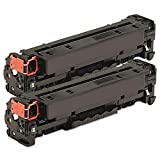 HQ Supplies © 2 Pack Canon 118 Black Toner Cartridge 2662B001AA Professionally Remanufactured compatible for Canon LBP7200CDN, LBP7660CDN, MF8350CDN, MF8380CDW, MF8580CDW Printers