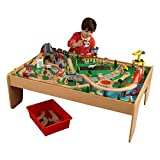 Toys : KidKraft Waterfall Mountain Train Set and Table